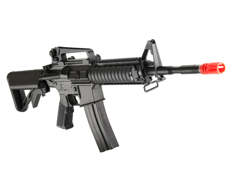 ICS ICS-130 SOPMOD M4 RIS, Full Metal AEG, Black