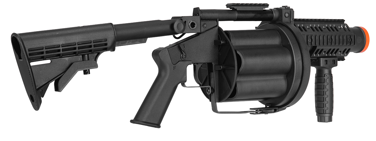 ICS ICS-190 GLM GRENADE LAUNCHER / BLACK - ASG Officialy Licensed Product