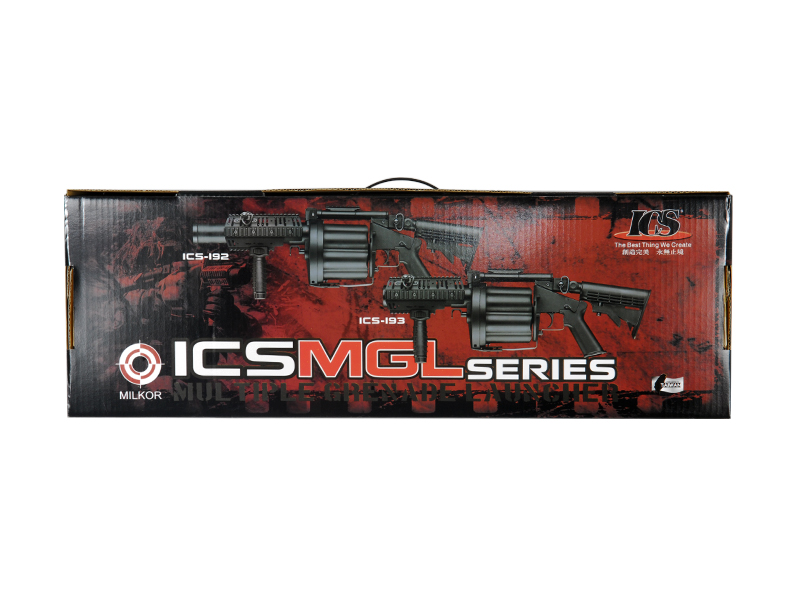 ICS ICS-193 Multiple Grenade Launcher, Short Version, Black