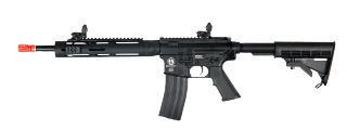 "ICS FULL METAL M4A1 TUBULAR 11.5"" HANDGUARD RAS L AIRSOFT AEG RIFLE"