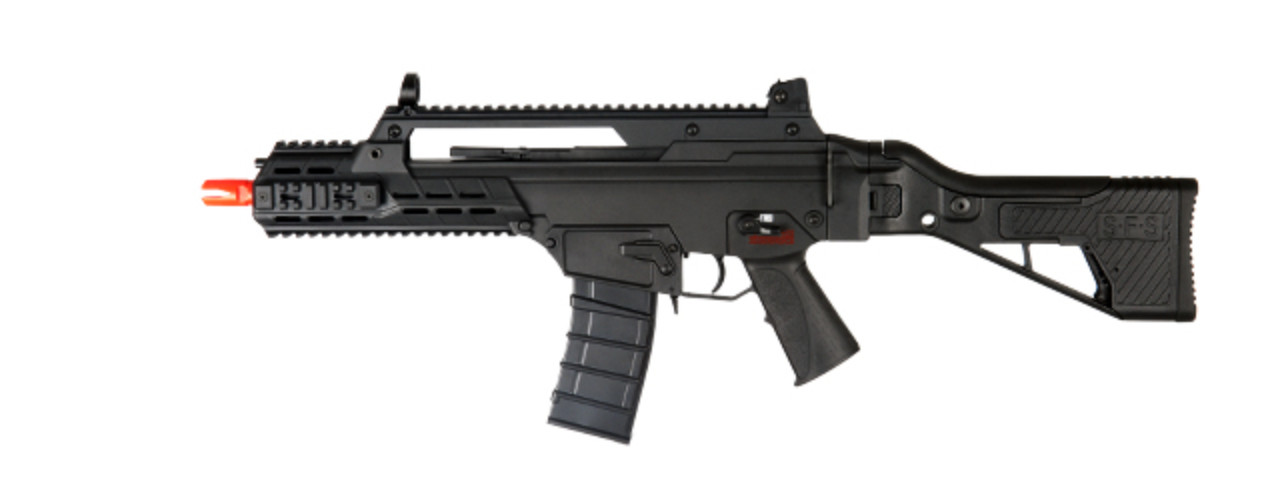 ICS-233 G33 SFS AIRSOFT TACTICAL AEG ASSAULT RIFLE (BLACK)