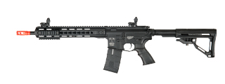 ICS CXP UK1 TRANSFORM4 EBB KEYMOD AIRSOFT M4 AEG RIFLE LONG - BLACK