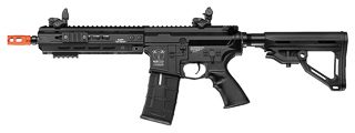 ICS-270 CXP-HOG KEYMOD FULL METAL AEG (FRONT WIRED) 9 INCH RAIL VERSION (COLOR: BLACK)