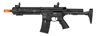 ICS-272 CXP-HOG QRS KEYMOD FULL METAL AEG (FRONT WIRED) 9 INCH RAIL VERSION (COLOR: BLACK)