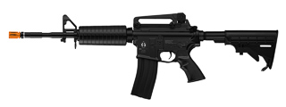 ICS AIRSOFT M4A1 AEG FULL METAL W/ ELECTRIC BLOWBACK - BLACK