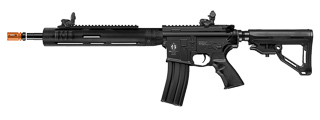 ICS-322 M4 TUBULAR R.A.S. w/ELECTRIC BLOWBACK FULL METAL AEG (COLOR: BLACK)