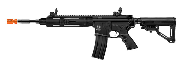 ICS-323 M4 TUBULAR R.A.S. w/ELECTRIC BLOWBACK FULL METAL AEG (COLOR: BLACK)