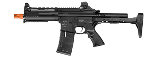 ICS AIRSOFT CXP-08 AEG FULL METAL ELECTRIC BLOWBACK - BLACK