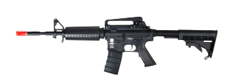 ICS ICS-41 M4A1B, Clear Plastic Body