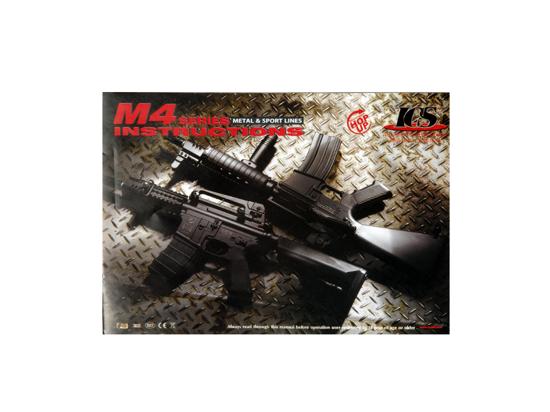 ICS ICS-41 M4A1B (Color: Black)