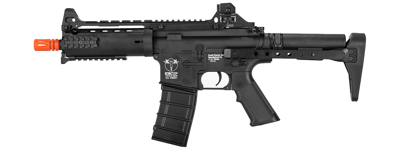 ICS-60 CXP-08 PROLINE FULL METAL AEG (COLOR: BLACK)