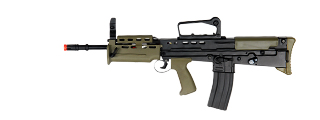 ICS ICS-87 L85 A2 Carbine AEG in Dark Earth