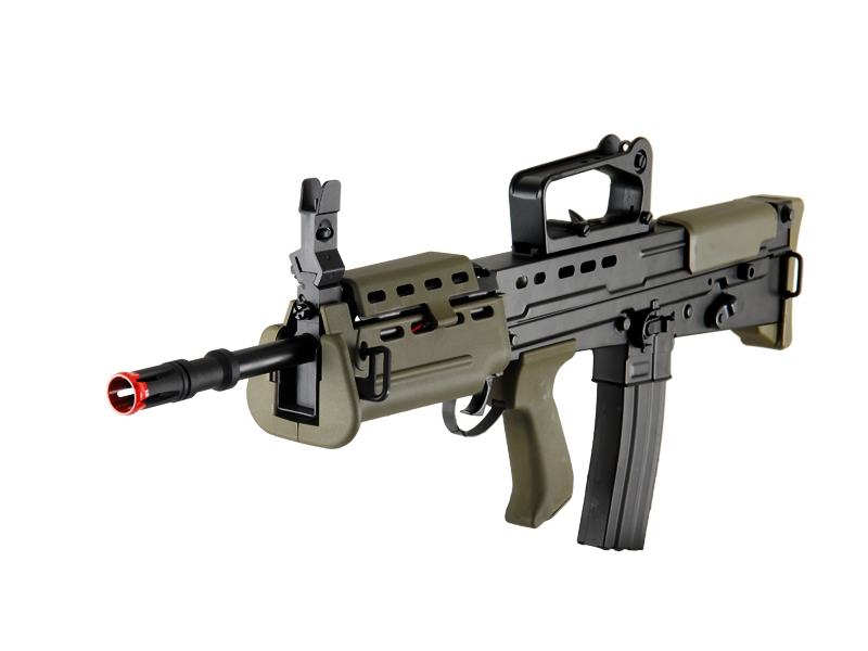 ICS-87 L85 A2 CARBINE FULL METAL AEG (COLOR: OD GREEN & BLACK)