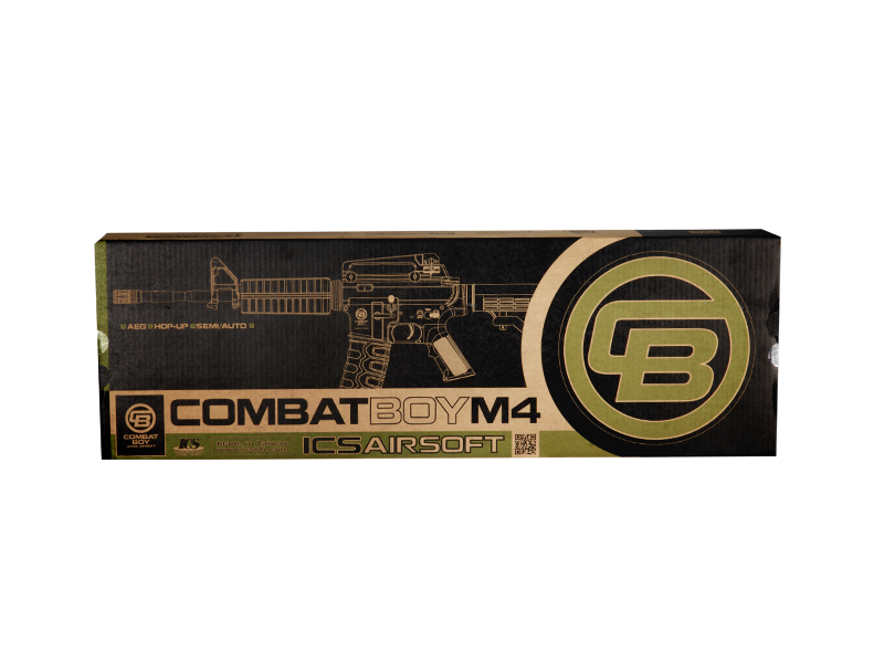 ICS ICS-CB-242 Combat Boy retractable Metal gears & Box