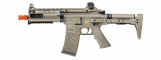ICS AIRSOFT CXP-08 PROLINE FULL METAL AEG CARBINE RIFLE - TAN