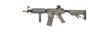 ICS AIRSOFT SIG 551 AEG MODULAR RAIL SYSTEM FULL METAL - DARK EARTH