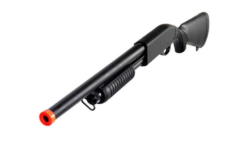 IU-8871 Full Metal High Powered Spring Shotgun w/ 40 rd clip