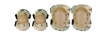 IU-A04 Knee & Elbow Pads, Camo