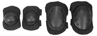 IU-A05 Knee & Elbow Pads, Black