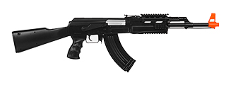 UKARMS IU-AK47P AK-47 Plastic AEG, Fixed Stock, Black