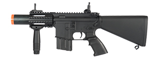 IU-CQB3-NB STUBBY M4 CQB FULL METAL AEG (COLOR: BLACK)