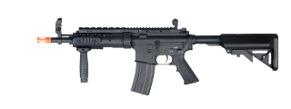 A&K IU-D1-NB M16 SPR MOD 1 Auto Electric Gun, Full Metal, Black