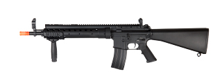A&K IU-D2-NB M16 SPR MOD 0 AEG Metal Gear, Full Metal Body in Black