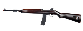 IU-M1B SPRING POWERED M1 CARBINE RIFLE (COLOR: WOOD)