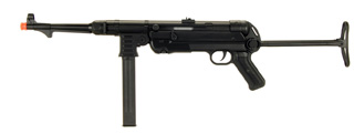 IU-M40P WWII MASCHINENPISTOLE MP40 FULL METAL AEG AIRSOFT GUN (BLACK)