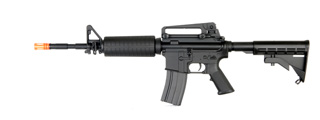 A&K IU-M4A1B-NB M4A1 Auto Electric Gun Metal Gear, ABS Body, Retractable LE Stock, Battery and Charger Not Included