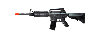 A&K IU-M4RIS-NB M4 RIS Auto Electric Gun Metal Gear, ABS Body, Retractable Crane Stock, Battery and Charger Not Included