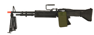 A&K IU-M60-NB M60 AEG Metal Gear, Full Metal Body, Bipod, Box Magazine