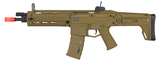 A&K IU-MASADA-ST-NB MASADA ACR CQB RIS AEG AIRSOFT GUN (COLOR: DARK EARTH)
