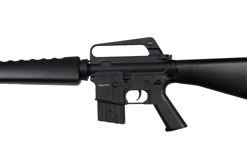JG JG1601T M16 A1 Vietnam AEG Metal Gear, Full Metal Body, Fixed Stock