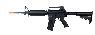 JG AIRSOFT M4A1 CARBINE AEG RIFLE W/ BATTERY AND CHARGER - BLACK