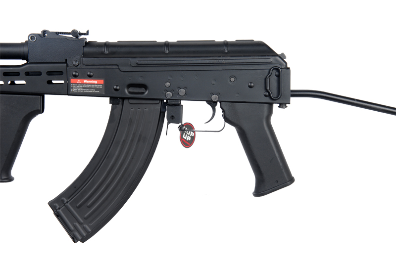 Golden Eagle JG JG6802C Hungaraian AK-47 AKM Variant AMD-65 AEG Metal Gear, Full Metal Body, Side Folding Stock