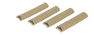 JG JGM-30(TAN) Rail Covers For F6624, Tan