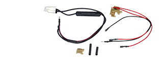 JG VERSION 2 REAR WIRED AIRSOFT AEG HARNESS - LARGE TAMIYA CONNECTOR