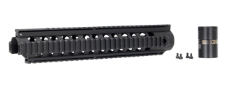 JG AIRSOFT FREE FLOATING QUAD RAIL INTERFACE SYSTEM FOR FB6652