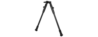 "Double Eagle LA21 11"" Short Retractable Bipod - Weaver Mount"