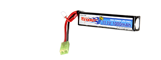 Tenergy LIPO11.1V1000S Lithium Polymer LiPo 11.1V 1000mAh 20C Stick Battery