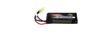 Tenergy LIPO7.4V1600F Battery Pack