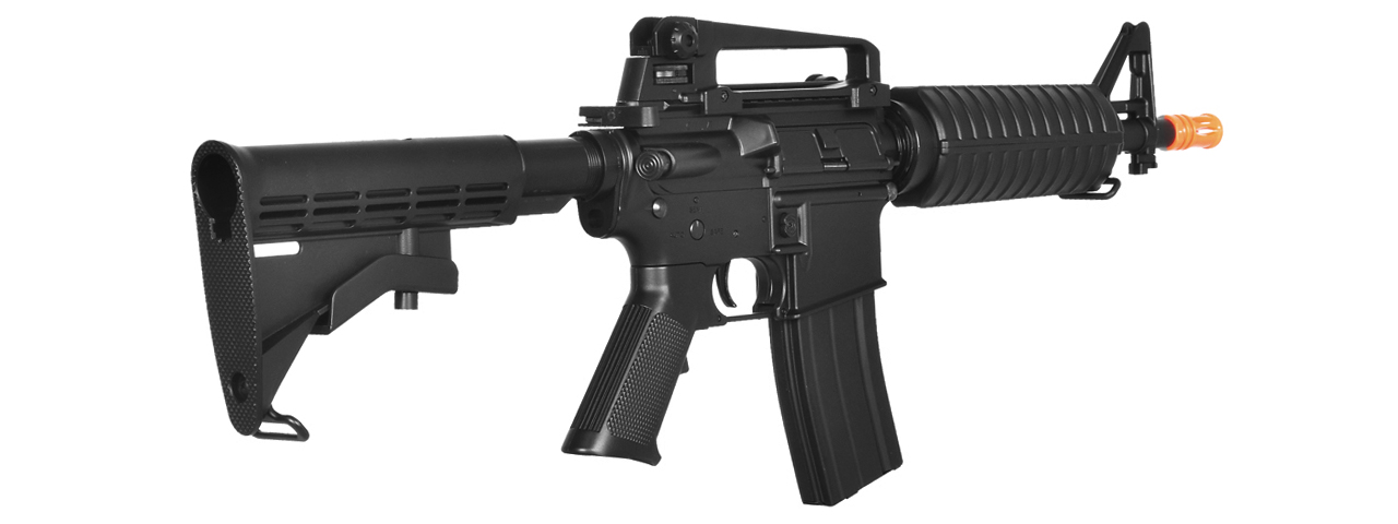 LT-01BL M4 M933 COMMANDO AEG METAL GEAR (COLOR: BLACK)