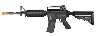 Lancer Tactical LT-03B M4A1 Carbine AEG Metal Gear, ABS Body, Adjustable Crane Stock, Removable Carry Handle