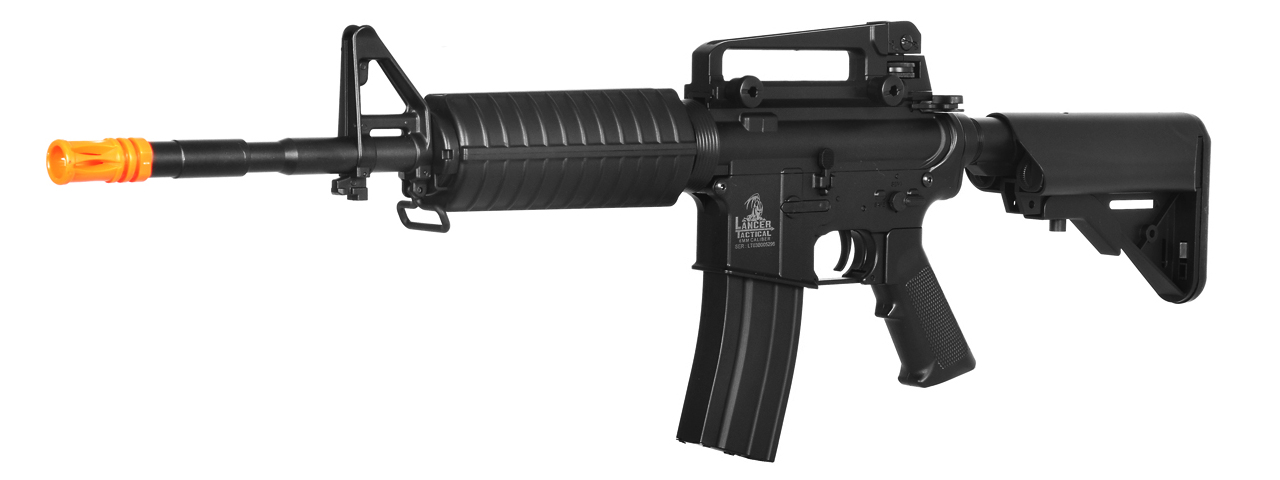 LT-03B CRANE STOCK M4 AEG METAL GEAR (COLOR: BLACK)