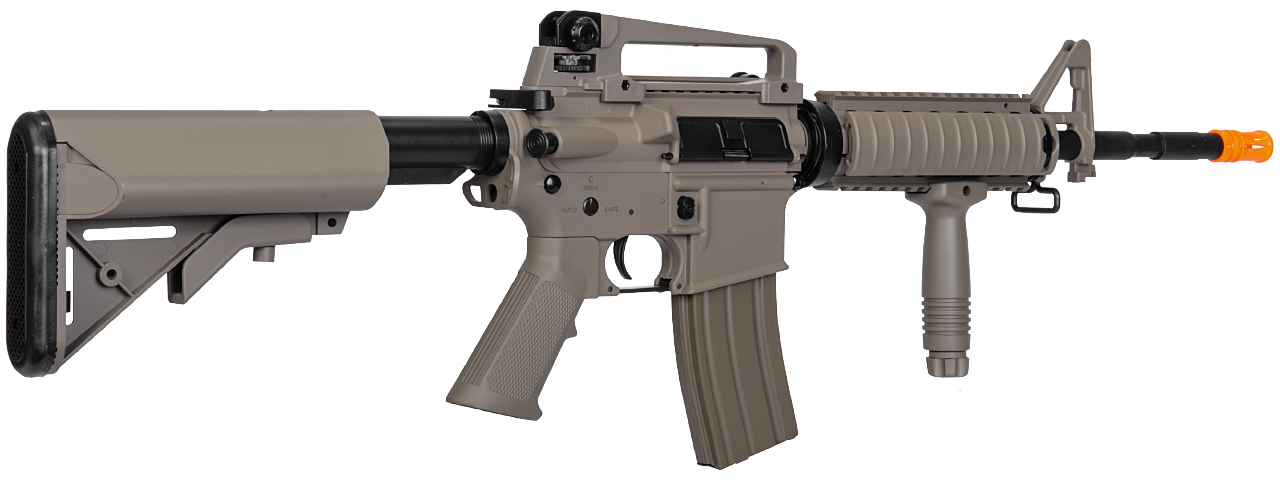 LT-04T SOPMOD M4 AEG METAL GEAR (COLOR: DARK EARTH) - Click Image to Close