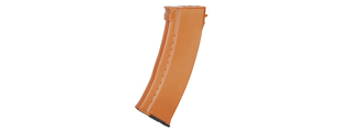 LT-07W MAG AK74 600 RD HI-CAP MAGAZINE (COLOR: LEATHER ORANGE)