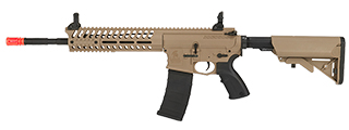 LT-102TR MULTI-MISSION CARBINE w/RECOIL SYSTEM (COLOR: TAN & BLACK) 14.5 INCH BARREL