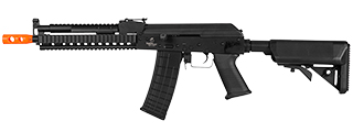 Lancer Tactical LT-10B Beta Project Tactical AK RIS AEG Metal Gear, Polymer Body in Black