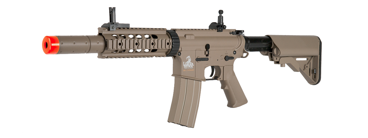 LT-15T M4 SD AEG METAL GEAR (COLOR: TAN)